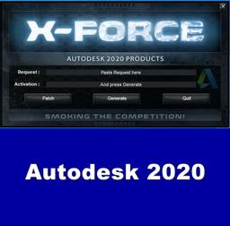 Download X-Force Keygen 2020 cho tất cả sản phẩm của Autodesk 2020