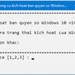 Cách Active Windows 10 Kích Hoạt Bản Quyền Kỹ Thuật Số Vĩnh Viễn Không Crack
