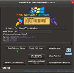 Download Windows KMS Activator Ultimate 2021 5.5 – active win 10 win 7 hiệu quả nhất