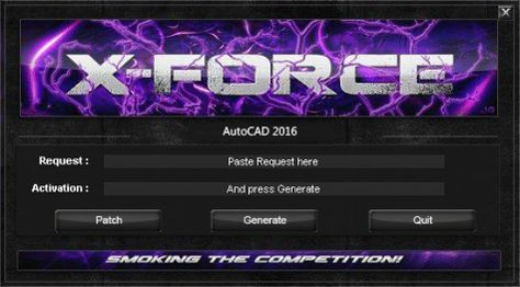 Download X-Force 2016 và Produtcts Keygen for AutoDesk 2016