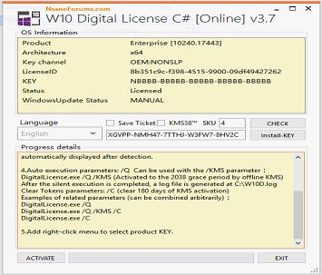 Download Win 10 Digital License V3.7 – Active Windows 10 Bản Quyền Kỹ Thuật Số Vĩnh Viễn