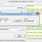 Universal Maps Downloader 10 Full Crack – Tải bản đồ Google Maps