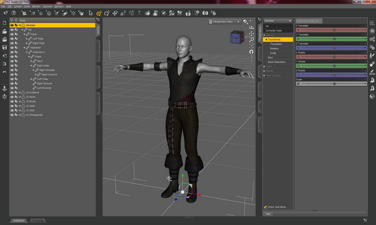 DAZ Studio Professional 4.14 Free Download