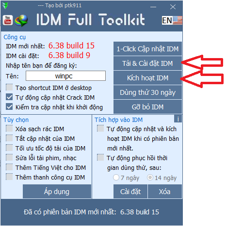 IDM Full Toolkit 4.7