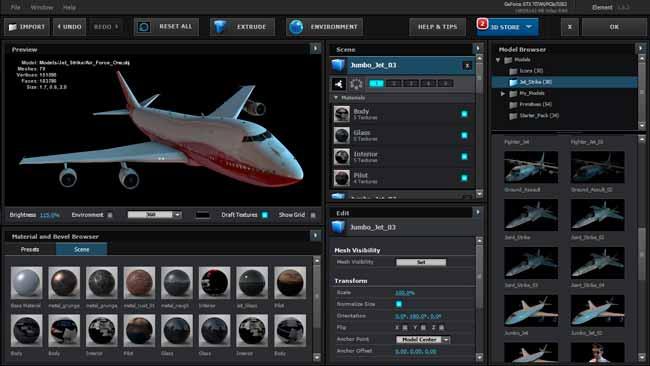 VideoCopilot Element 3D 2.2.2 Free Download