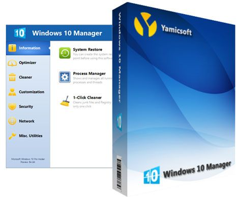 Download Yamicsoft Windows 10 Manager 3.5.5 – Video hướng dẫn cài đặt