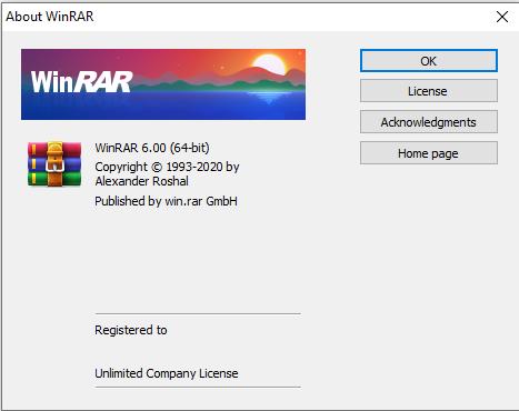 Download WinRAR 6.0 32/64bit Key Mới nhất 2021 – Video hướng dẫn cài đặt