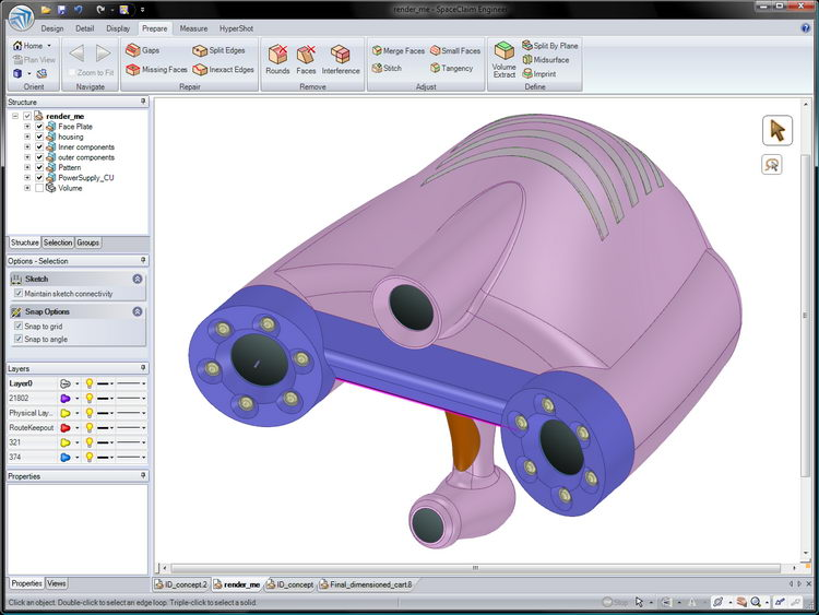 ANSYS SpaceClaim 2021 R1 Free Download