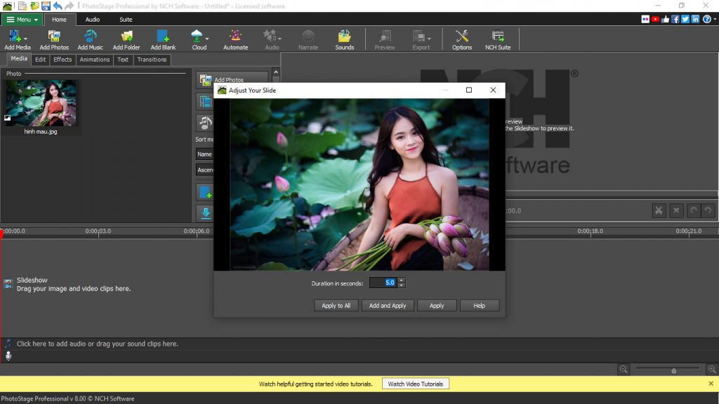 PhotoStage Slideshow Producer Professional Free Download