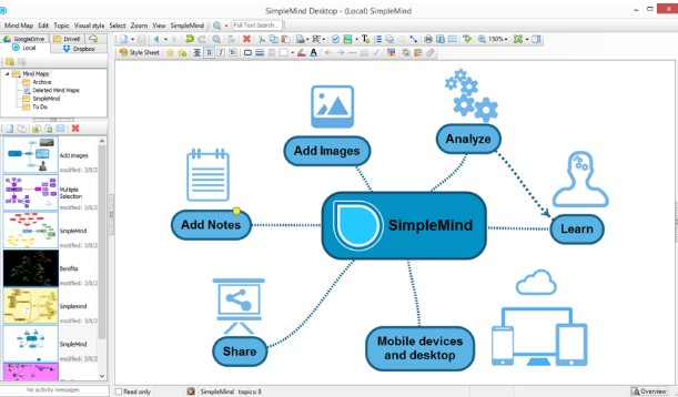 SimpleMind Pro 1.27.0 Free Download