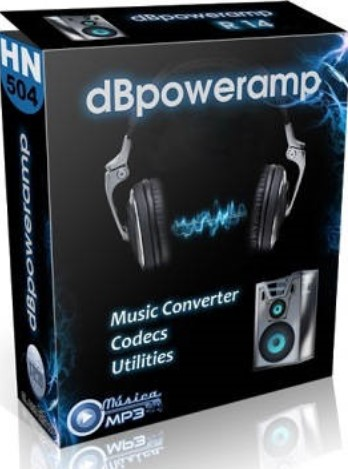Download illustrate dBpowerAMP Music Converter R17.2 Reference Crack Chuyển đổi định dạng file âm thanh
