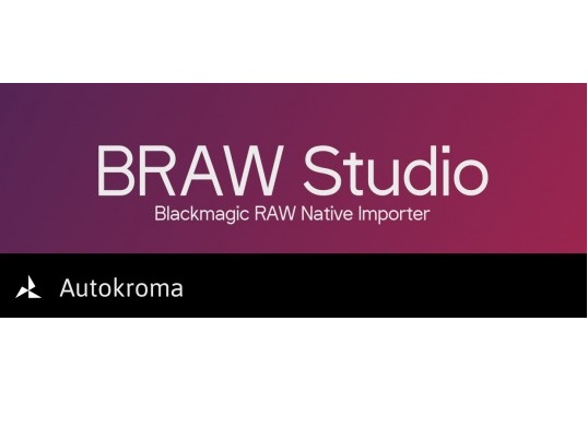 Download Aescripts BRAW Studio v2.2.4 (Win/Mac) for Premiere / After Effects / Media Encoder