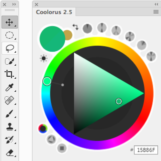 Download Coolorus 2.5.16 Win/Mac – Color wheel plugin for Photoshop