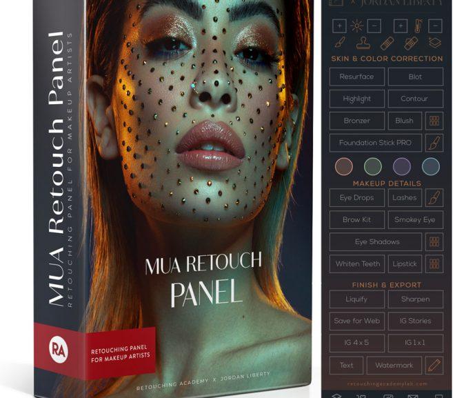 MUA Retouch Panel for Adobe Photoshop – Retouching Academy