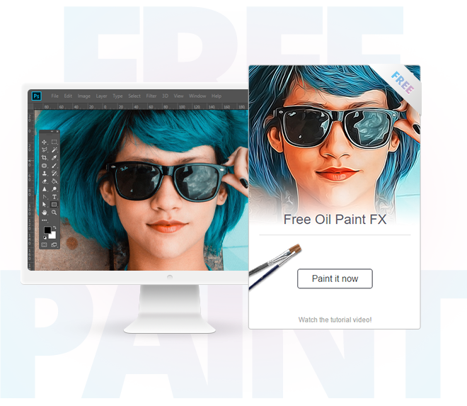 Download Oil Paint Plugin For Photoshop
