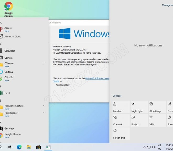 Download Ghost Win 10 Pro 2009 Full Soft Nhanh Mượt Nhẹ 2021