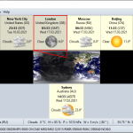 Download EarthTime 6.10.4 – Hiển thị thời gian toàn cầu