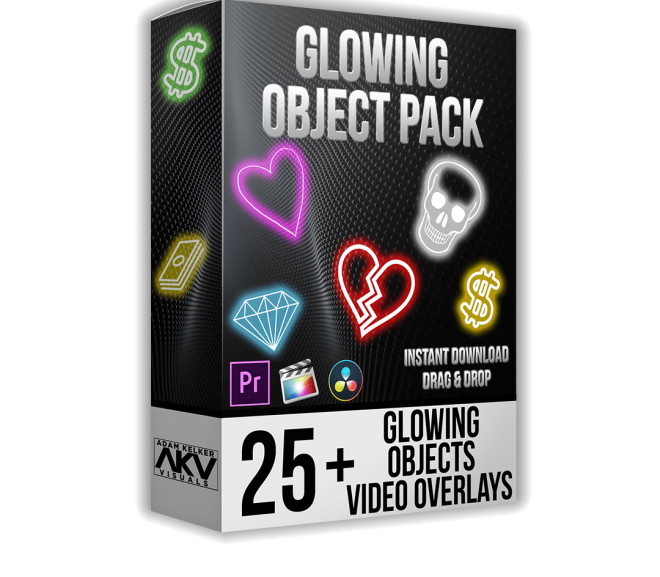 Download Object Glow Pack – Akvstudios