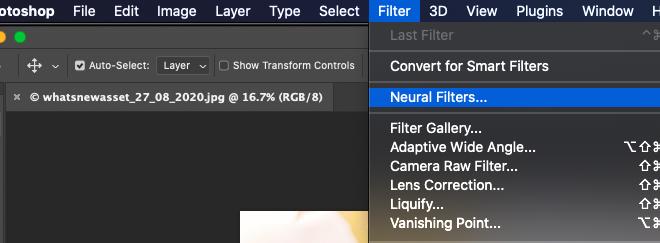 Download Photoshop 2021 Neural Filter – Bộ lọc thần kinh cho Photoshop