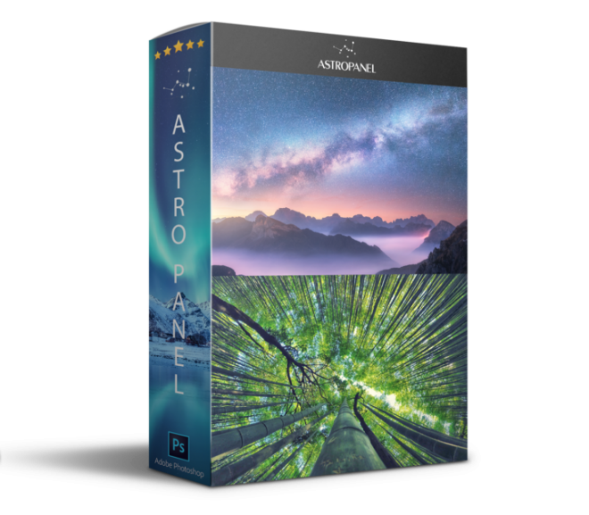 Download Astro Panel 5.1.0 for Photoshop – Plugin bầu trời đêm cho Photoshop
