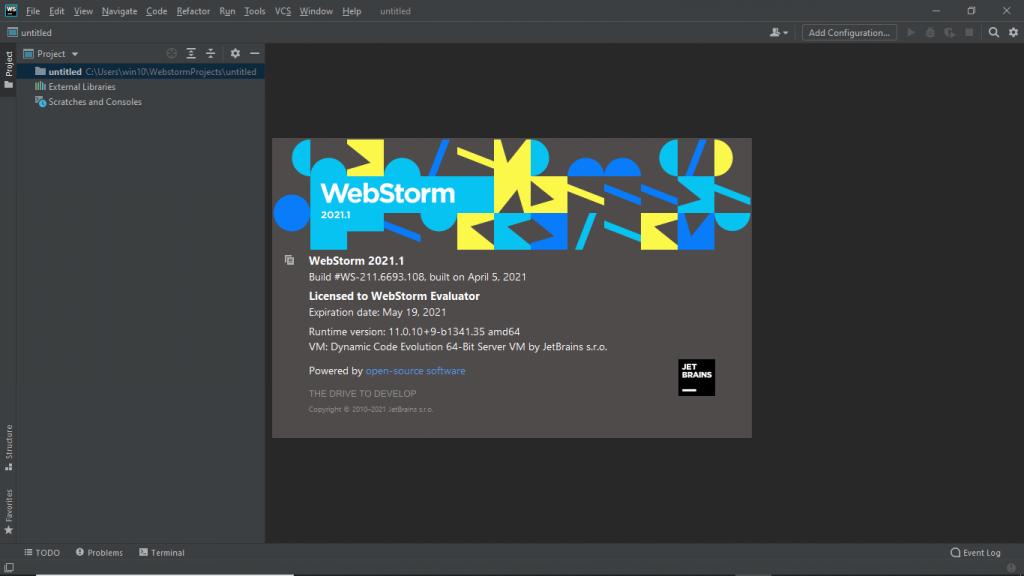 JetBrains WebStorm 2021 Free Download