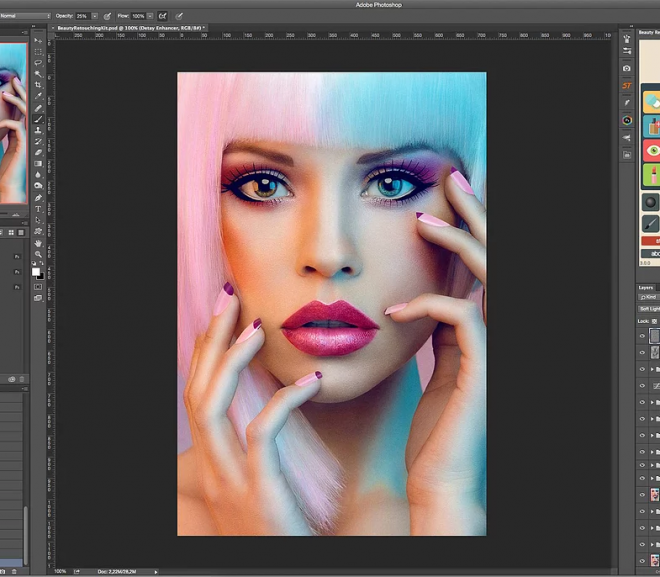 Download Beauty Retouching Kit 3.0.0 for Photoshop