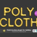 Download PolyCloth v2.02 for 3ds Max 2016 – 2022