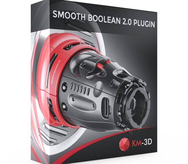 Download Smooth Boolean v2.02 for 3ds Max – 3ds Max plugin