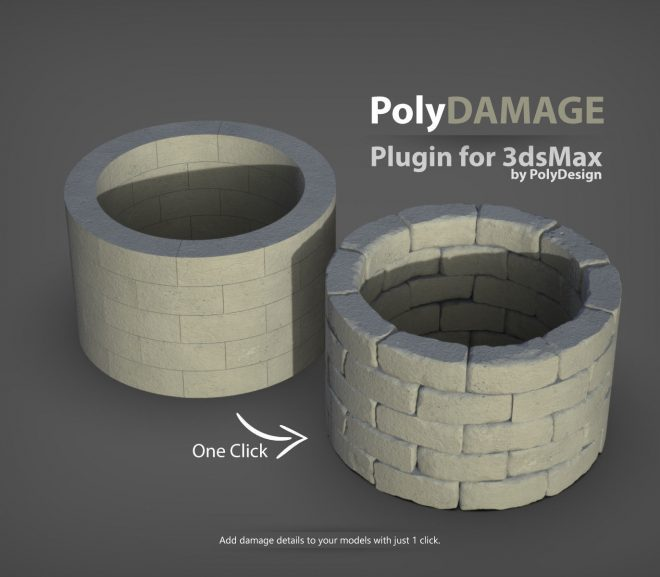 Download PolyDamage v1.01 for 3Ds Max – 3ds Max plugin