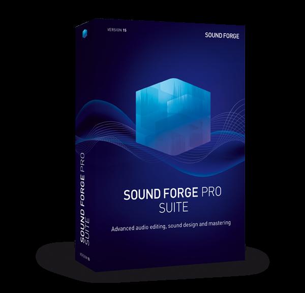 Download MAGIX SOUND FORGE Pro Suite 15.0.0.57 – Ghi âm và tăng chất lượng âm thanh