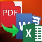 Top các phần mềm chuyển đổi PDF sang Word, Excel chuyên nghiệp