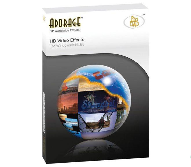 proDAD Adorage 3.0.130.1 – Gói 17.000 hiệu ứng video