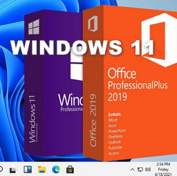 Windows 11 With Office 2019 Pro Plus Preactivated Non-TPM