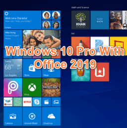 Download tải Windows 10 Pro With Office 2019 Pre-Activated ISO
